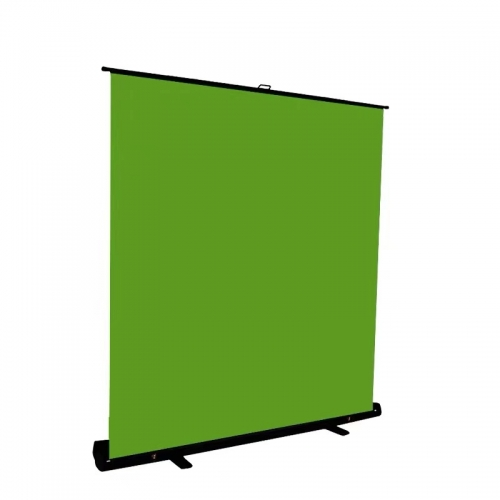 Professional Video Pull-up Portable Collapsible Background Chromakey Green Screen